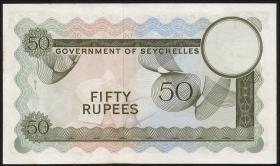 Seychellen / Seychelles P.17e 50 Rupien 1973 (1)