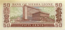 Sierra Leone P.04a 50 Cents (1972) (1/1-)