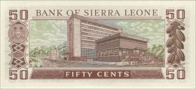 Sierra Leone P.04a 50 Cents 1972 (1)