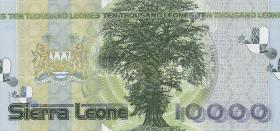 Sierra Leone P.29a 10000 Leones 2004 Friedensabkommen