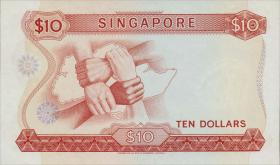 Singapur / Singapore P.03c 10 Dollars (1972) (1)