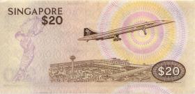 Singapur / Singapore P.12 20 Dollars (1979) (2)