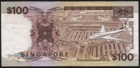 Singapur / Singapore P.23c 100 Dollars (1955) (3)
