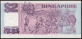 Singapur / Singapore P.31A 2 Dollars (1994) (1) Gedenkbanknote