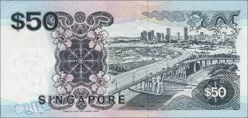 Singapur / Singapore P.36 50 Dollars (1987) (1)