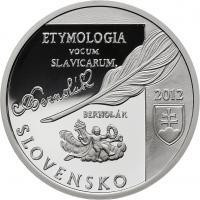 Slowakei 10 Euro 2012 Anton Bernolak PP