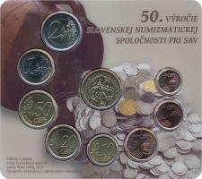 """Slowakei Euro-KMS 2020 """"50 Jahre Slowakische Numismatische Gesellschaft"""""""