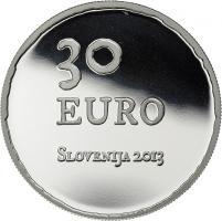 Slowenien 30 Euro 2013 Aufstand bei Tolmin