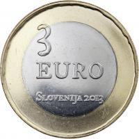 Slowenien 3 Euro 2013 Aufstand bei Tolmin