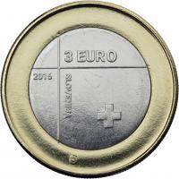 Slowenien 3 Euro 2016 Rotes Kreuz