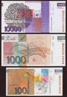 Slowenien / Slovenia P.28-30 100-10.000 Tolarjew 2003(2004) EU-Beitritt (1)