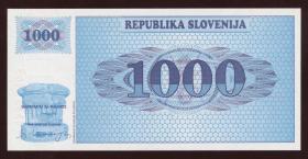 Slowenien / Slovenia P.09a 1000 Tolarjew (19)91 (1)