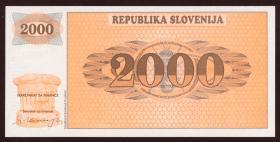 Slowenien / Slovenia P.09A 2000 Tolarjew (1991) (1)