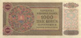 Slowakei / Slovakia P.13s 1000 Korun 1940 Specimen (1/1-)