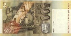 Slowakei / Slovakia P.23a 500 Kronen 1993 (1)