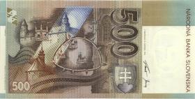 Slowakei / Slovakia P.27 500 Kronen 1996 (1)