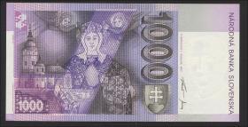 Slowakei / Slovakia P.24c 1000 Kronen 1997 (1)