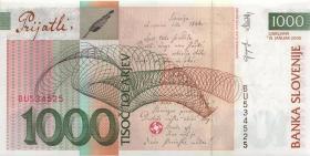 Slowenien / Slovenia P.32c 1000 Tolarjew 2005 (1)