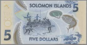 Solomon Inseln / Solomon Islands P.neu 5 Dollars (2019) (1)