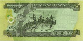 Solomon Inseln / Solomon Islands P.25b 2 Dollars (2011) (1)