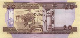Solomon Inseln / Solomon Islands P.28b 20 Dollars (2011) (1)