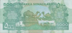 Somaliland P.21b 5000 Shillings 2015 (1)