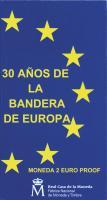 Spanien 2 Euro 2015 30 Jahre EU-Flagge PP
