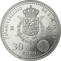 Spanien 30 Euro 2013 75 Geb. Juan Carlos