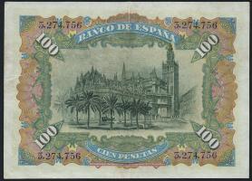 Spanien / Spain P.064 100 Pesetas 1907 (3)