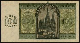 Spanien / Spain P.101 100 Pesetas 1936 (1)