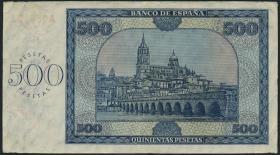 Spanien / Spain P.102 500 Pesetas 1936 (2-)