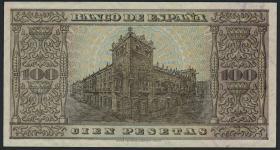 Spanien / Spain P.113 100 Pesetas 1938 (2/1)