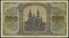 Spanien / Spain P.114 500 Pesetas 1938 (3)