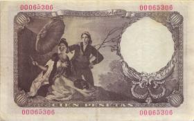Spanien / Spain P.131 100 Pesetas 1946 (1949) (3)