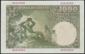 Spanien / Spain P.138 1000 Pesetas 1949 (2)