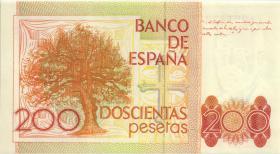 Spanien / Spain P.156 200 Pesetas 1980 (1) 1. Auflage