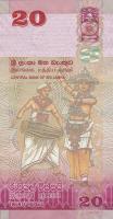 Sri Lanka P.123b 20 Rupien 2015 (1)