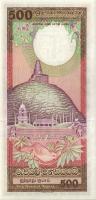 Sri Lanka P.100d 500 Rupien 1989 (1)