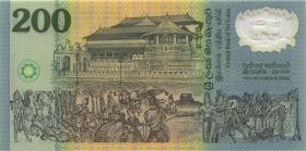 Sri Lanka P.114a 200 Rupien 1998 Gedenkbanknote Polymer (1)