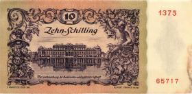 Österreich / Austria P.127 10 Schilling 1950 (3)