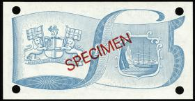 St. Helena / Saint Helena P.11s 5 Pounds (1998) (1) Specimen