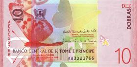 St. Thomas / Saint Thomas and Prince 10 Dobras 2020 (1)