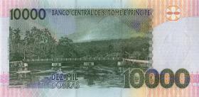 St. Thomas / Saint Thomas and Prince P.66d 10000 Dobras 2013 (1)
