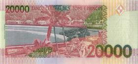 St. Thomas / Saint Thomas and Prince P.67e 20000 Dobras 2013 (1)