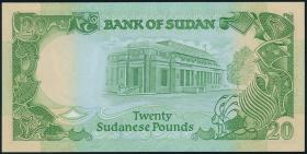 Sudan P.35 20 Pounds 1985 (1)