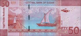 Sudan P.neu 50 Sudanese Pounds 2018 (1)
