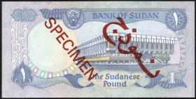 Sudan P.18s 1 Pound 1981 Specimen (1)