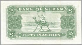 Sudan P.07b 50 Piastres 1968 (3+)