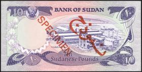 Sudan P.27s 10 Pounds 1983 Specimen (1)