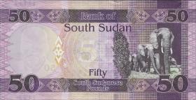 Süd Sudan / South Sudan P.14 50 Südsudanesische Pfund 2015 (1)